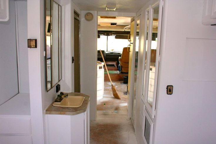 How To Spray Paint The Interior Of Your Rv In 13 Pictures Rv Interior Rv And Rv Living