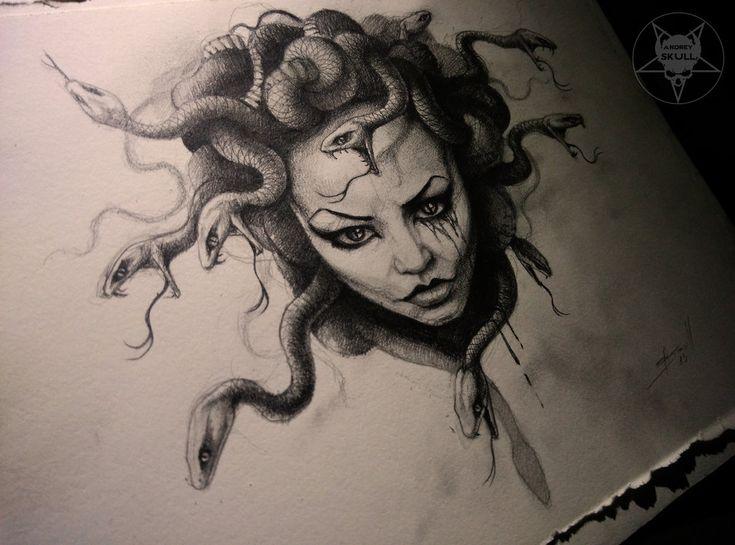 Medusa tattoo -artist?  Google Image Result for https://41.media.tumblr.com/928ee93b50c788b4bb0206155d8424de/tumblr_ni25q58ujV1rbxefro1_1280.jpg