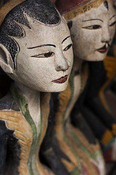 Javanese Marionettes