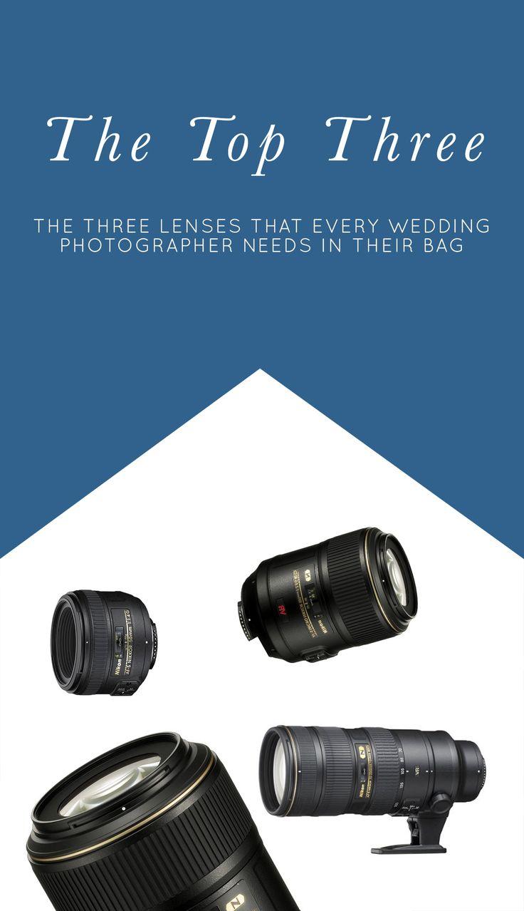 Three Lenses Every Wedding Photographer Needs