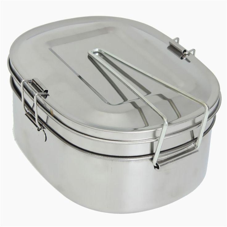 Zilver eenvoudige vierkante rvs voedsel container bento lunchbox 2 laag ongeveer 1.05L ongeveer 16.5x12.5x7.3 cm in Desprition:Ontwerp: 2 lagenKleur: zilverVolume: over 1.05lVorm: vierkanteMateriaal: roestvrij staalGrootte: ongeveer 16, van servies sets op AliExpress.com   Alibaba Groep