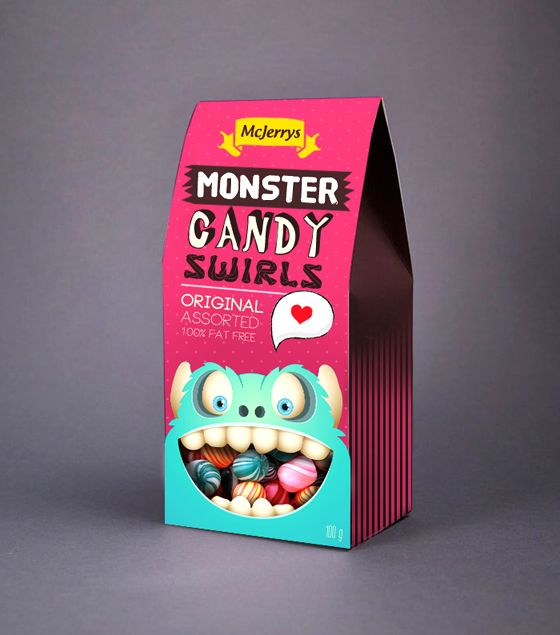 Candy Packaging Design Creative candy packaging