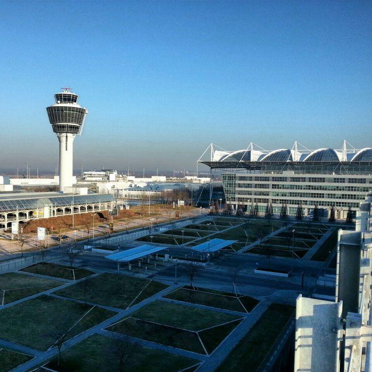"""München Flughafen """"Franz Josef Strauß"""" (MUC) in München"""