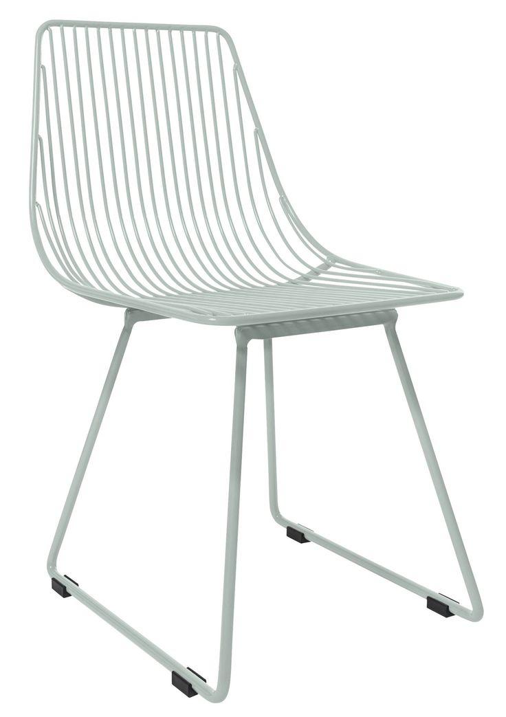 Köp Sebra Stol Metall Liten Pastell Blå | Barnrummet Barnmöbler | Jollyroom