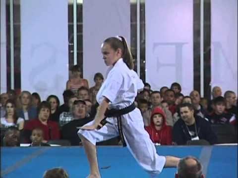 Mackensi Emory Kata at 2010 Ocean State Grand Nationals Karate Tournament