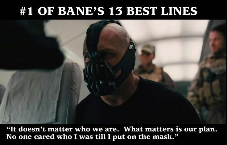 Read that in the Bane voice