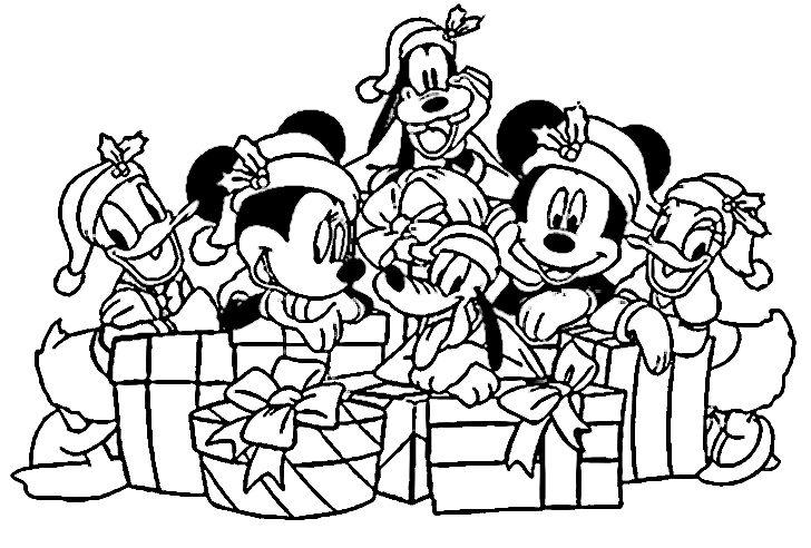 Dibujos Para Colorear Disney Navidad Novocom Top