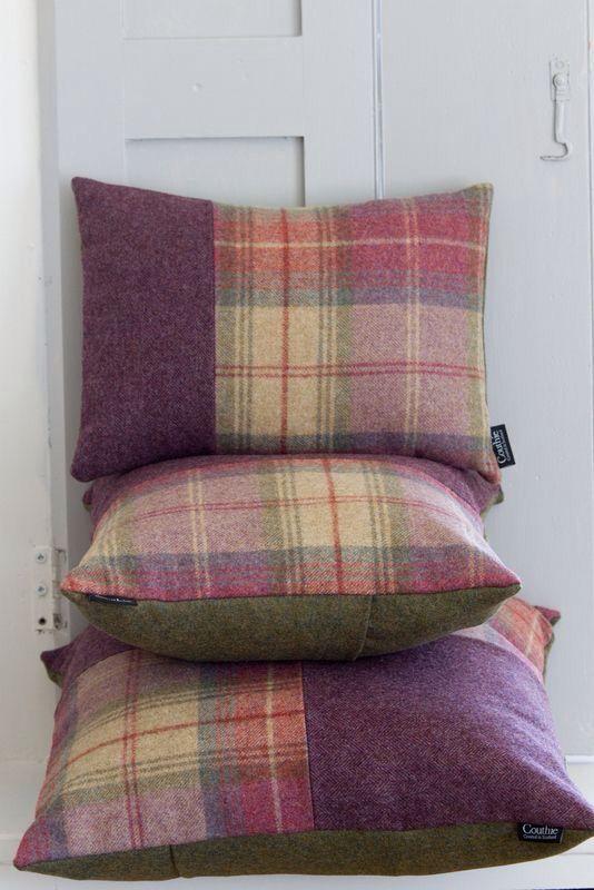 Tartan cushions                                                                                                                                                                                 More