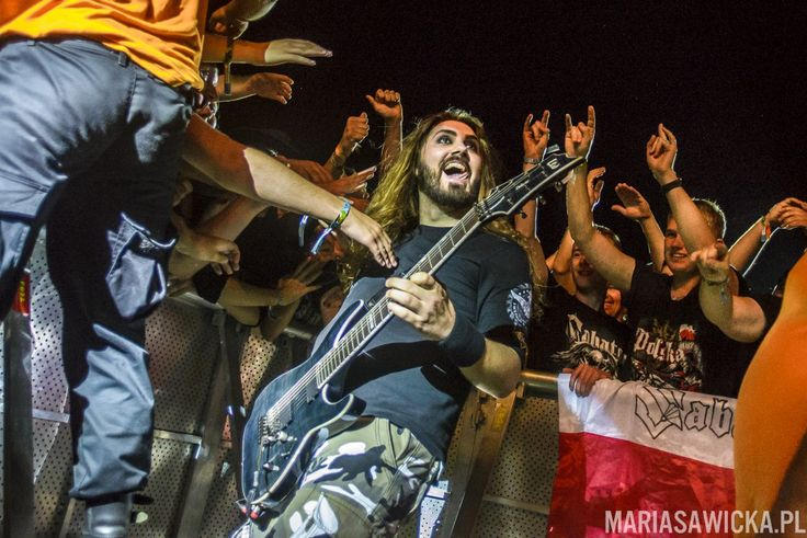 Chris Rorland of Sabaton at Czad Festiwal 2016 by Maria Sawicka