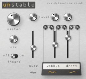 de la mancha releases unstable free random pitch modulation vst effect virtual instruments. Black Bedroom Furniture Sets. Home Design Ideas