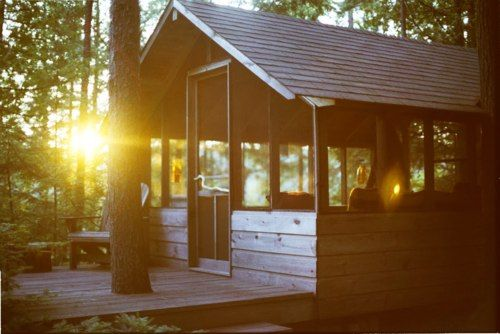 This reminds me of our old place for Tri-State Youth Camp <3 (except nicer)