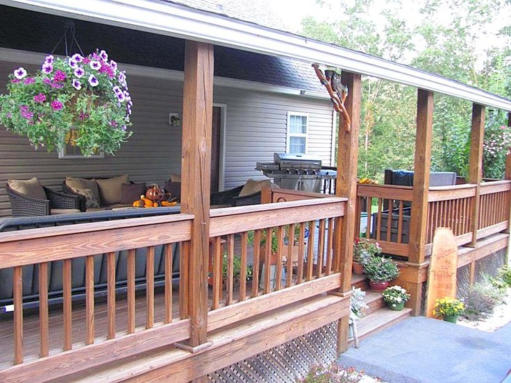 26 best Covered decks ideas images on Pinterest Mobile home