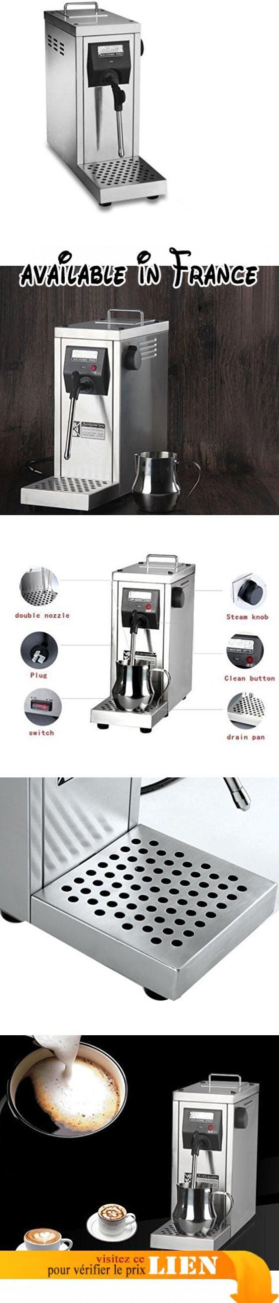 Professional Auto Café mousseur à lait cuiseur vapeur machine à espresso Cappuccino Latte Cafetière l'eau bouillante machine 220–240V. Voltage: AC 220-240V/50Hz. Puissance: 1450W. Capacité du réservoir d'eau: 1800ml. Pression: Lift n 'Lock TM. Poids: environ. 6.7kg #BISS Basic #FOOD_SERVICE_SUPPLY
