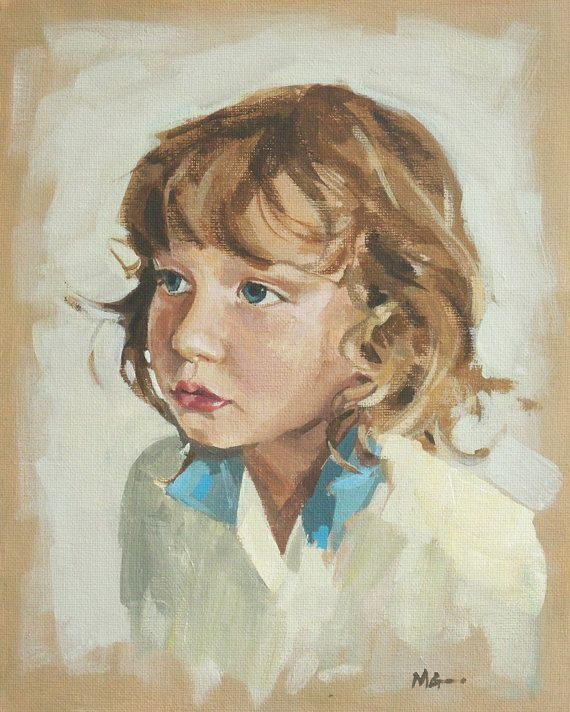 Commission a custom portrait of your child by MarthaGavinPortraits, £200.00