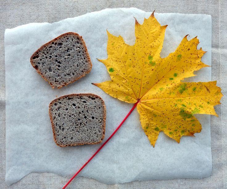 Chestnut flour bread recipe, using 20% chestnut flour. I've also added some dark rye flour to add additional depth to the loaf. #chestnuts #flour #sourdough #bread