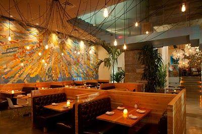 Best Restaurant Interior Design Ideas Mexican Restaurant La Condesa Austin Usa Plan