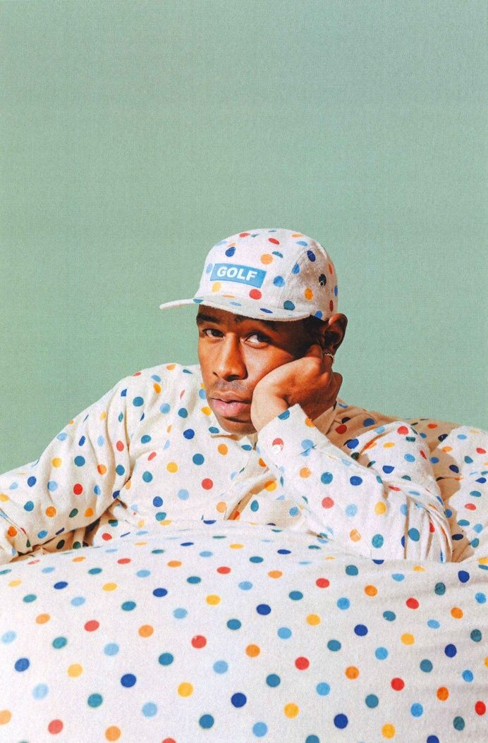 Tyler the creator polka dots golfwang in Fresh