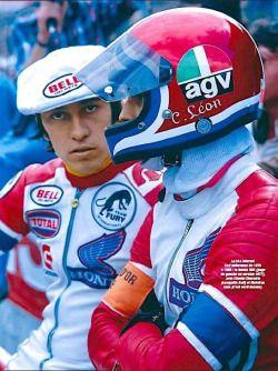 Il pilotera aux Grandes Heures ! Jean-Claude Chemarin, c'est entre autres 5 victoires au Bol d'or, 3 aux 24 Heures Moto du Mans et un titre de champion du monde d'endurance. Grâce au Team RCB Racing Caillou Bédier, il roulera sur la Honda RCB 480A de...