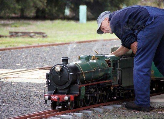 HOT: Altona Miniature Railway, 1-21 Blenheim Rd, Altona North http://tothotornot.com/2014/06/hot-altona-miniature-railway-1-21-blenheim-rd-altona-north/