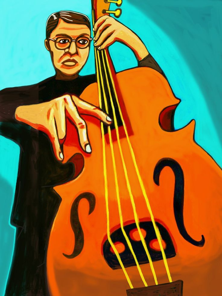 """CHARLIE HADEN PRINT POSTER man cave cd lp record album vinyl stand up double bass quartet west always say goodbye keith jarrett pat metheny. CHOOSE PRINT SIZES 9x12"""" ($70) or 18x24"""" ($130)-This quality giclee print is part of my extensive portfolio. I am the artist John Froehlich, aka FRO-ART-This is a """"READY TO FRAME"""" REPRODUCTION PRINT on quality gloss archival paper.-PRINT will be professionally packed and shipped in a sturdy mailing tube, via USPS Priority Mail.-My vibrant colored..."""