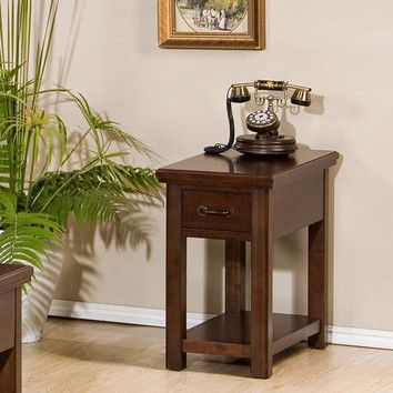 Winners Only, Inc. Willow Creek Chairside Table U0026 Reviews | Wayfair