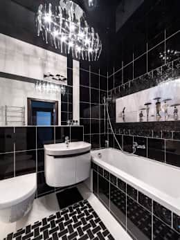 Baños De Estilo Por Asiya Orlova Interior Design