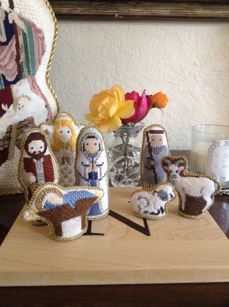 286 Best Images About Needlepoint Angels Amp Nativities On
