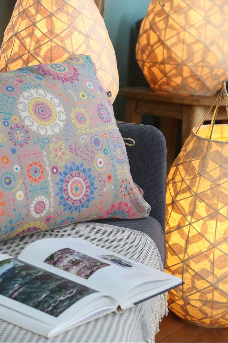 Suzani pillowcase
