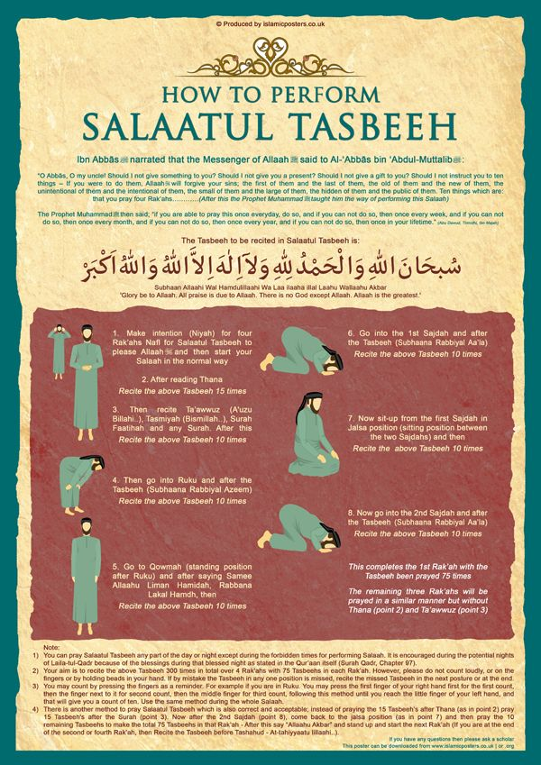 Salaatul Tasbeeh by billax