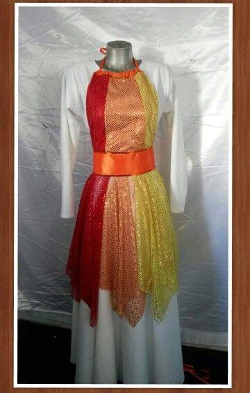 Vestuarios de danza cristiana