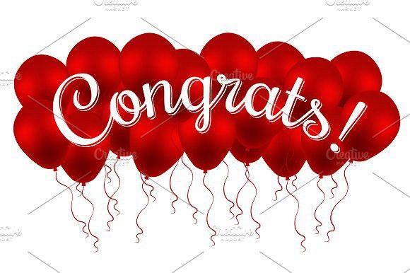 Congrats! Congratulation! Balloons. #congrats #congratulation