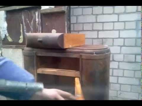 Очистка содой мебели дерева реставрация Киев Украина
