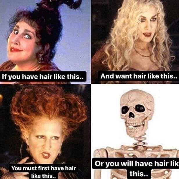 Pin By Nicole Shrier On Hairdresser Life Going Blonde Hair Humor Hair Meme