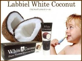 「SOL SELECT」で取り扱う商品「White Coconut(ラビエルデンタルクリーム)」の紹介・購入ページ