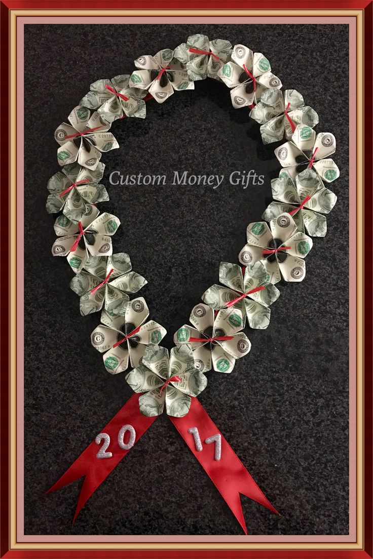 Money Lei. This Unique Handmade Money Lei Is an Id…