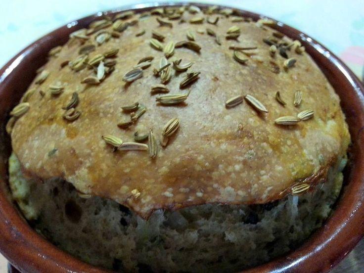 Pane Gallese in Terracotta (Vegan Version)