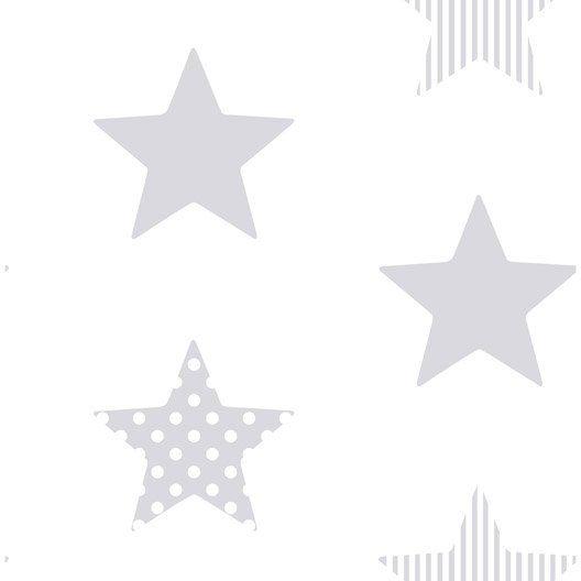 papier_peint_intisse_superstar_argent