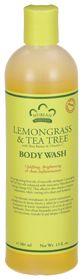 Lemongrass & Tea Tree Body Wash by Nubian Heritage at vitamin shoppe