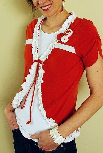 t-shirt up cycle: Brassy Apple, Ideas, Craft, Clothing, Old Shirts, T Shirts, Re Fashion, Refashion