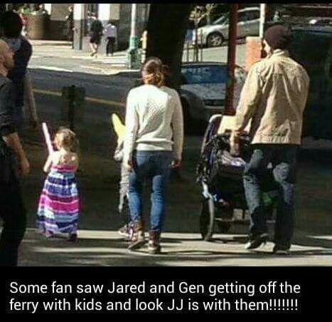 Jared Padalecki // Genevieve Padalecki // Thomas // JJ / J2 / Family