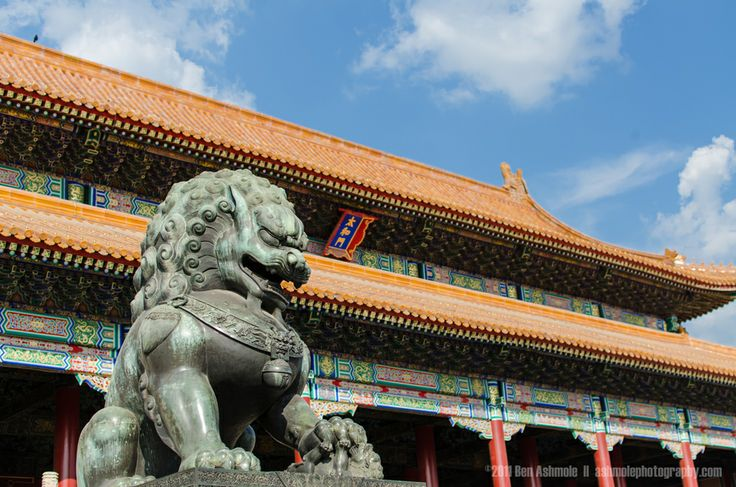 The Guardian Lion, Forbidden City, Beijing, China