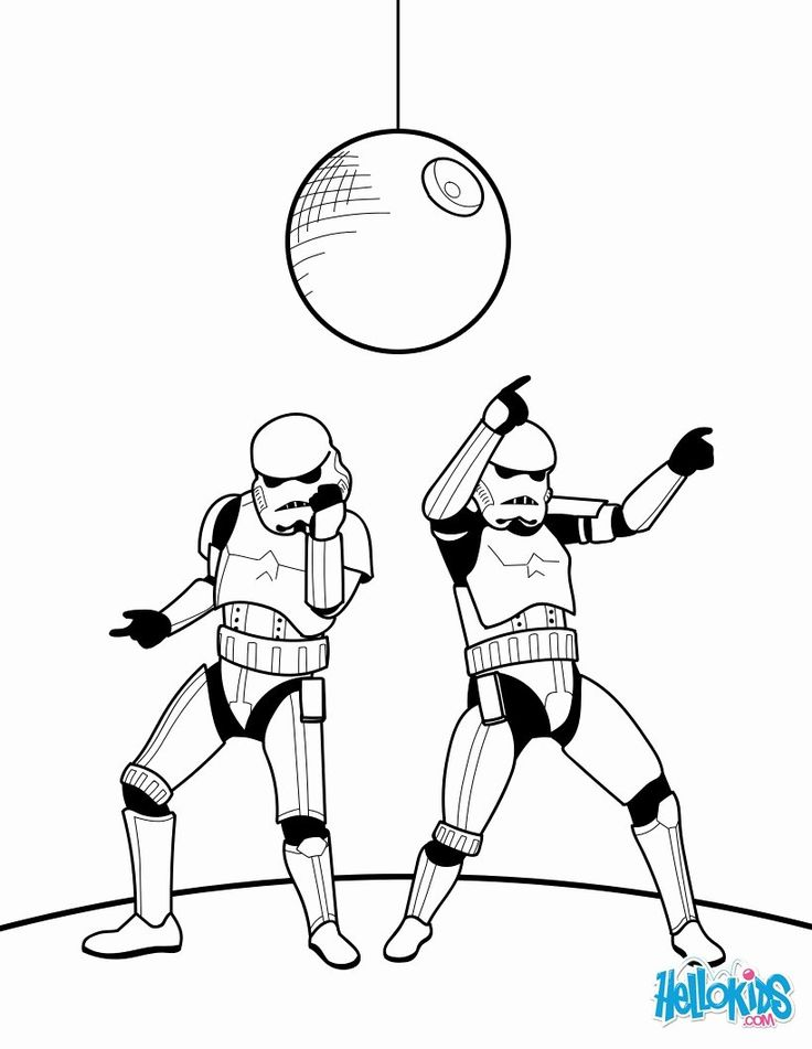 Storm Trooper Coloring Page Awesome Dancing Stormtroopers