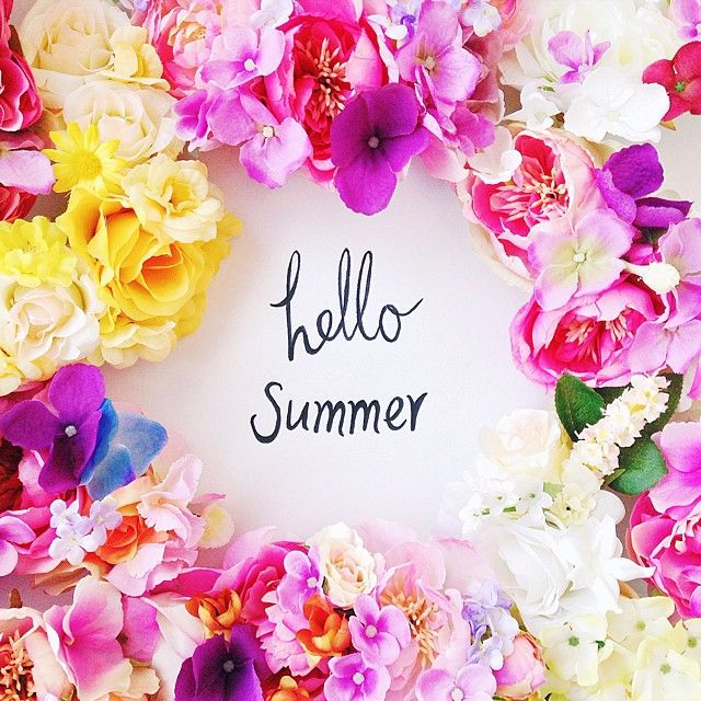 hello summer!   Check out these new flower creations at www.kisforkani.etsy.com ! #hellosummer #kisforkani #flowercrown #december #summer #flowerpower
