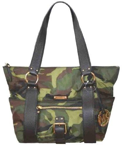 Michael Kors Austin Md Top Zip Nylon Tote Handbag « Clothing Impulse