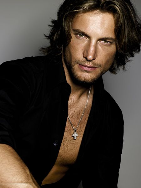 No reason.....just because!!! Stunning Gabriel Aubrey~Halle's ex, would love to have caught him when she tossed him ;-D