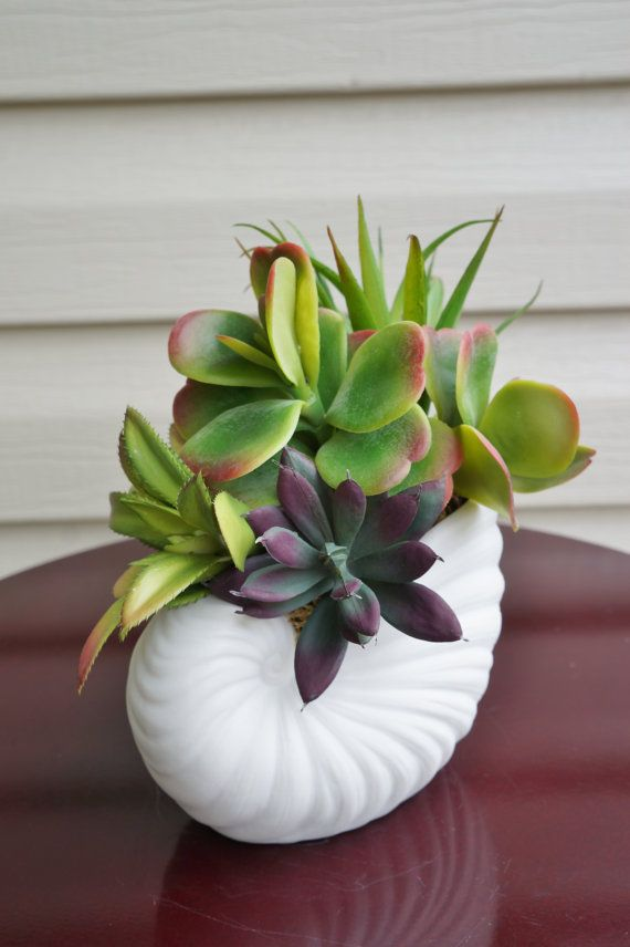 succulents artificial succulent arrangement by