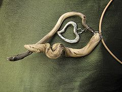 Heart with Attitude (wlk7) Tags: jewelry driftwood necklaces seapsalmcreations necklacesnatureart