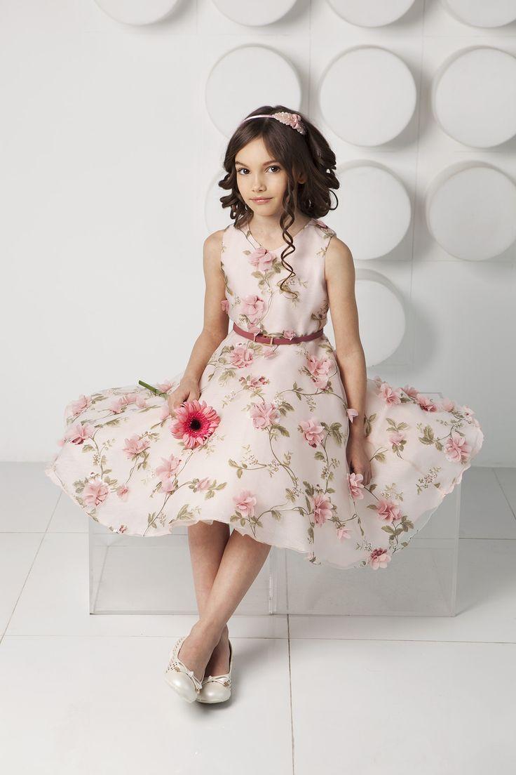 Весеннее настроения, воплотившееся в цветах на платье от Choupette.