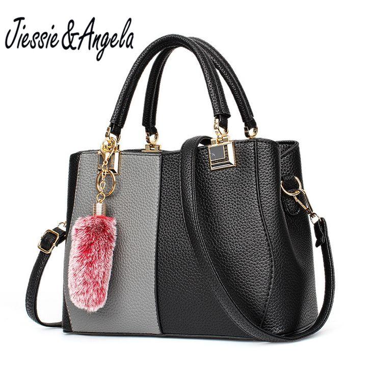 Jiessie & Angela 2017 Fashion Women Shoulder Purse Leathe Handbags Lady's Luxury Women Bag Famous Brand Bags Tote Handbags //Price: $30.50 & FREE Shipping //     #hashtag2