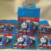 Tas Souvenir ulang tahun spunbond thomas